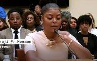 Empire Star Taraji Henson Speaks on Suicide and Mental Health on Capitol Hill - Los Angele...