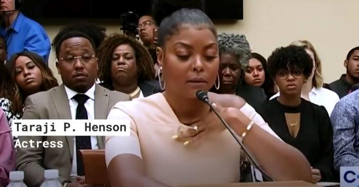 Empire Star Taraji Henson Speaks on Suicide and Mental Health on Capitol Hill – Los Angele…