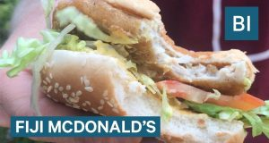 We Went To A McDonald's In Fiji And Ate Food You Can't Get In America