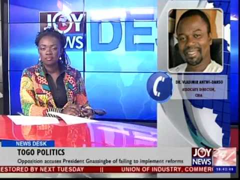 Togo Politics – News Desk (1-12-14)