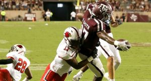 Ainias Smith was instant-impact entertainment in A&M debut