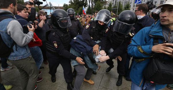 Prospect Of Protest Means Russia's Political Climate May Not Cool This Fall