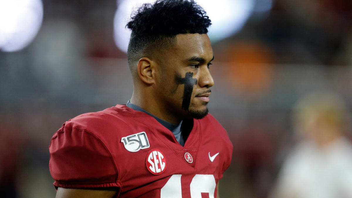 Alabama QB Tua Tagovailoa suffers high-ankle sprain, expected to miss a couple weeks