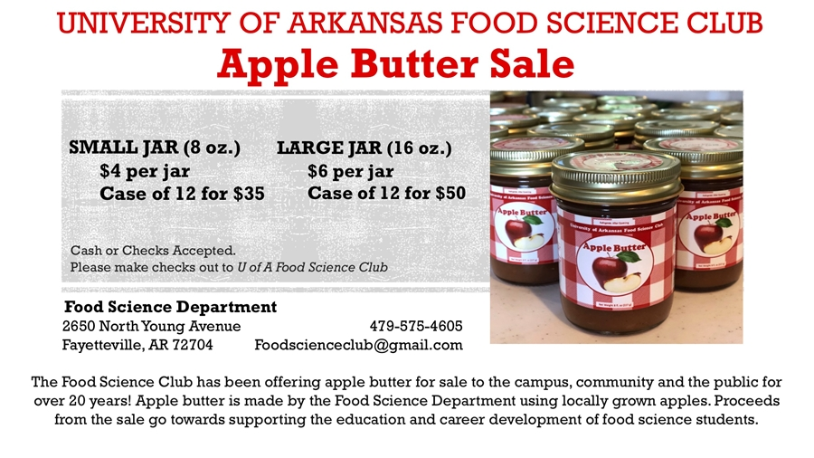 Food Science Apple Butter Sale