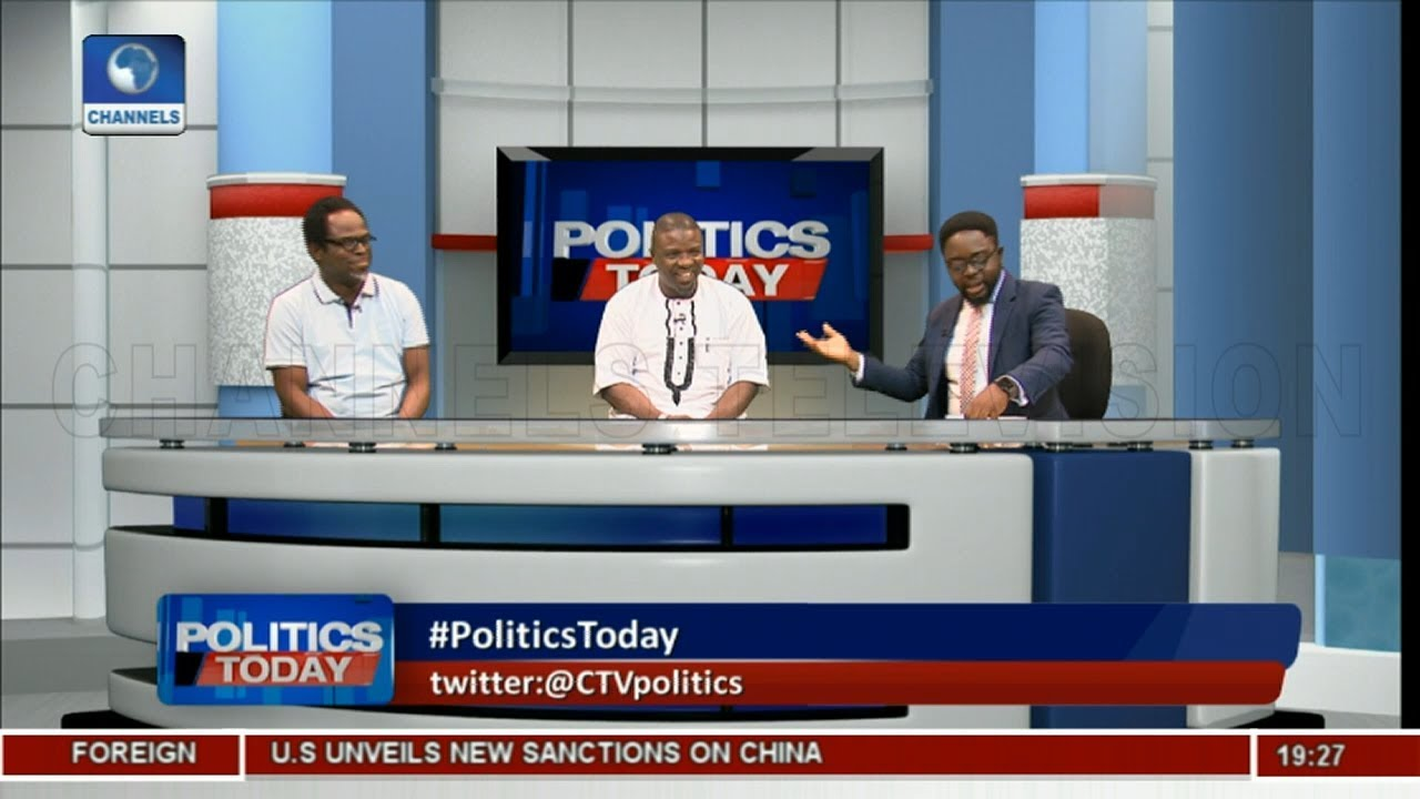 Okolugbo, Jimoh Face-Off On NASS Blockade, Akpabio's Defection,2019 Polls |Politics Today|