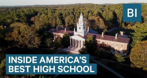 Phillips Academy in Andover is the best high school in America