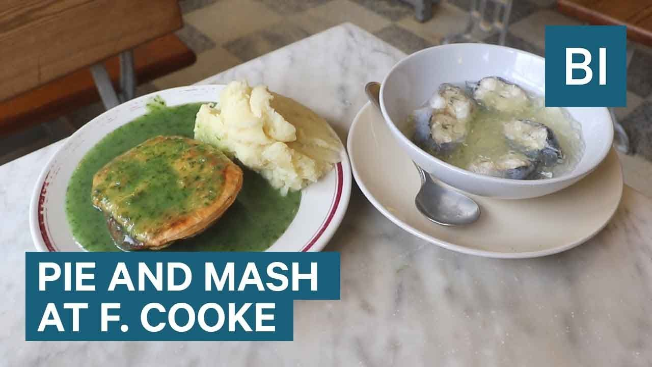 We Tried Pie, Mash, and Jellied Eels At One Of London's Oldest 'Fast Food' Restaurants