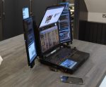 Interesting laptop with 7 screens: Expanscape Aurora 7