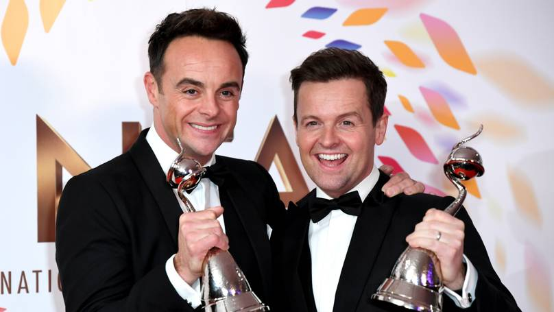 Bradley Walsh Had The Funniest Reaction To Ant And Dec's NTA Win