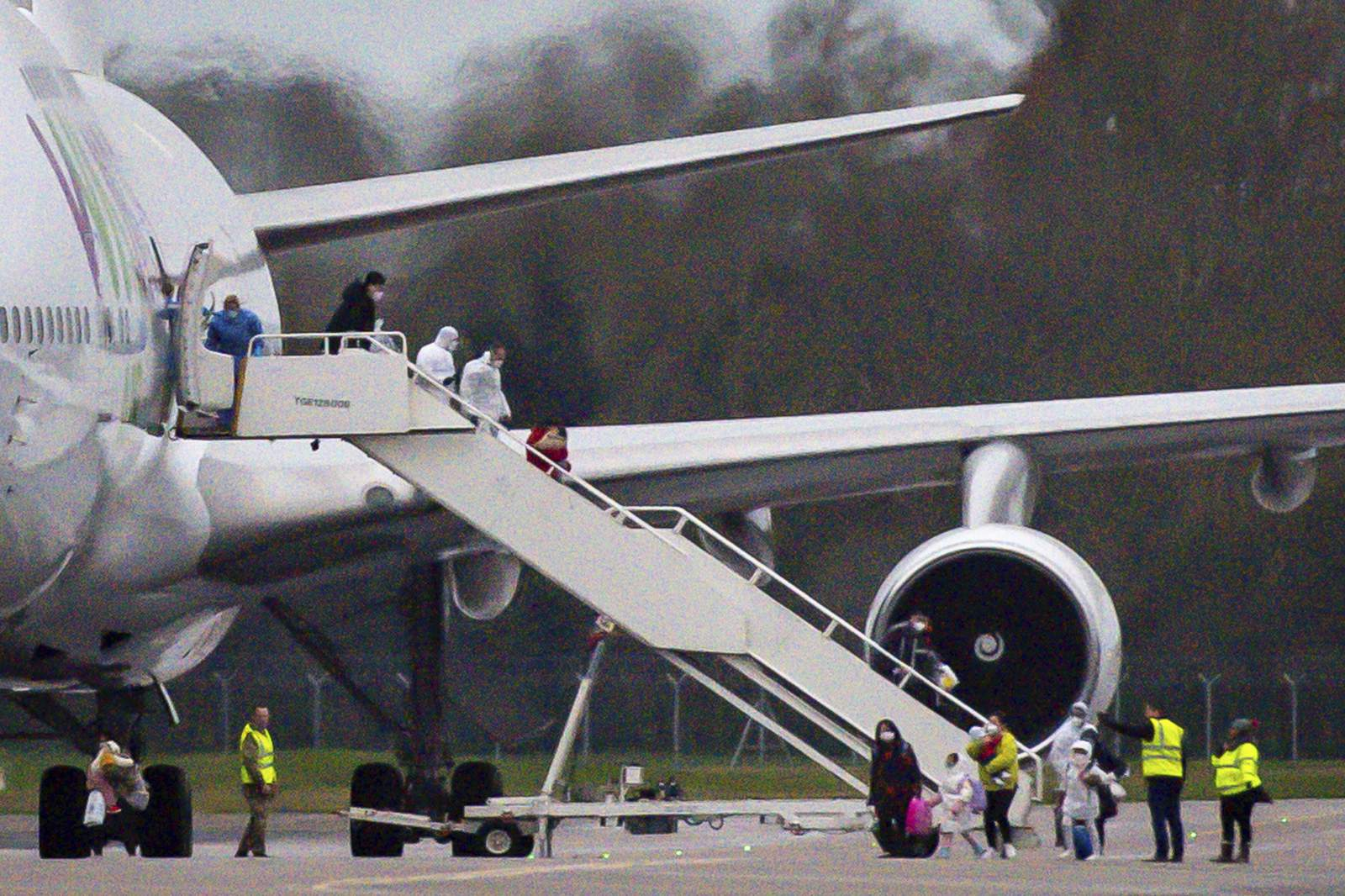 "UK calls virus ""serious"" health threat; will detain people"
