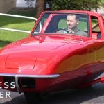 How This Two-Wheeled Car Uses A Disk To Balance
