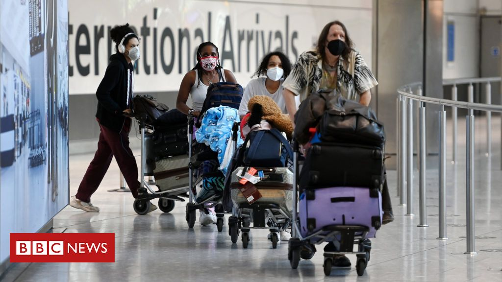 Covid: International travel changes for fully vaccinated people to be set out – BBC News