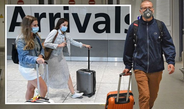 Travel news: Britons should be 'prepared' to pay £1,750 when returning from amber holiday | Travel News | Travel